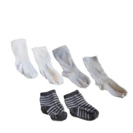 3 paar sokjes voor een kleine (ecologische) voet(-afdruk)