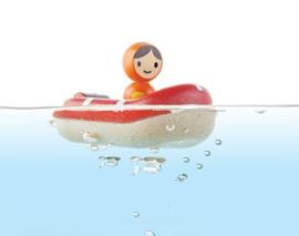 Badbootje rood - PlanToys