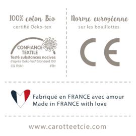 *Kersenpitkussen diamant - Carotte & Cie*