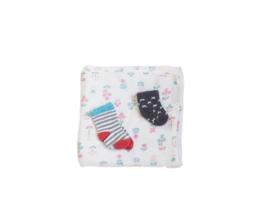 XL-tetradoek + sokjes voor een kleine (ecologische) voet(-afdruk)