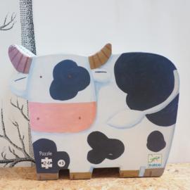 24 stukjes - puzzel koe - Djeco