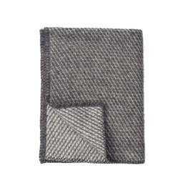 *Ledikantdeken Velvet grijs - Klippan*
