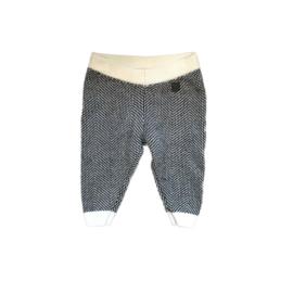 62 - Gebreide broek zwart/wit - jbc