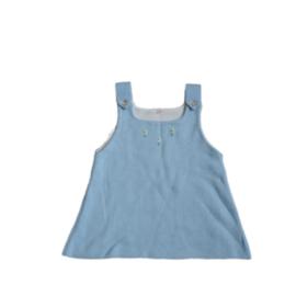 50 - jurkje lichtblauw - Vintage
