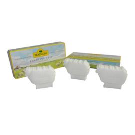 3 schaapjes lanolinezeep - Texelana (nieuw)