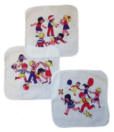 Stoffen zakdoeken - vintage maar gloednieuw