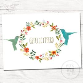 Gefeliciteerd - Hierbenik