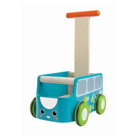 Loopwagentje bus  - PlanToys