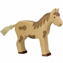 *Paard gevlekt - Holztiger*