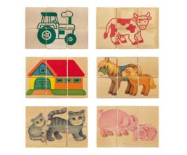 Blokpuzzel fattoria - Selecta Spielzeug