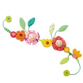 Wagenspeeltje bloemenkindjes - Haba