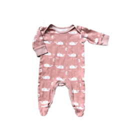 Pyjama roze walvissen - Fresk