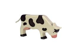 *Koe grazend - Holztiger*