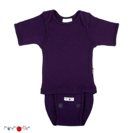 *N - Body short majestic plum - ManyMonths*