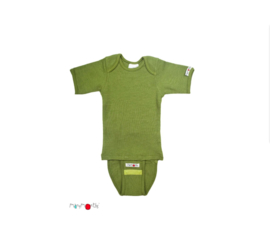 Body short garden moss green - ManyMonths