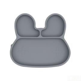 Vakjesbord konijn grijs - Wemightbetiny