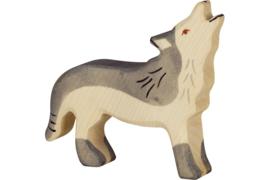 *Wolf groot - Holztiger*