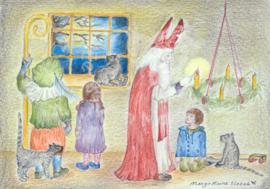 Sint Nicolaas en advent - Eentje van Margot