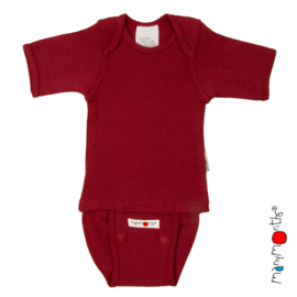 *C/E - Body short raspberry red - ManyMonths*