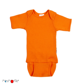 *C/E - Body short festive orange - ManyMonths*