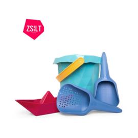 Set emmer + schepje + zeef + boot - Zsilt