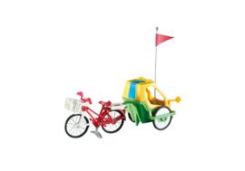 Rekeningnummer voor een fietskar + wasbare luiers
