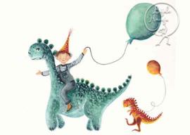 *Dinofeest - Bijdehansje*