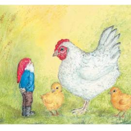 *Sibbe en de kip - Eentje van Margo*