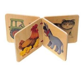 Houten boekje - Selecta Spielzeug