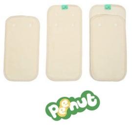 PeeNuts pads ecru - TotsBots (nieuw)