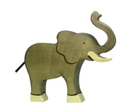 *Grote olifant slurf omhoog - Holztiger*