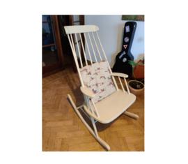 Schommelstoel - vintage/ chaise à bascule