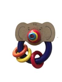 Rammelaar olifant - Selecta Spielzeug