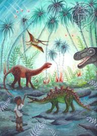 *Dino-avontuur - Bijdehansje*