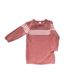 Gebreid roze kleedje - H&M