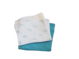 2 XL - tetradoeken blauw