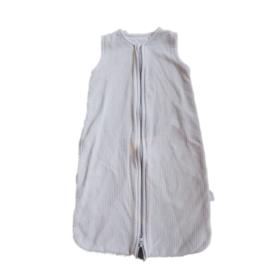 65 cm - grijze slaapzak wafeltjesstof - Jollein