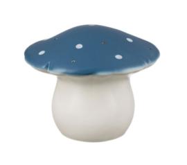Paddestoelenlampje donkerblauw - Heico