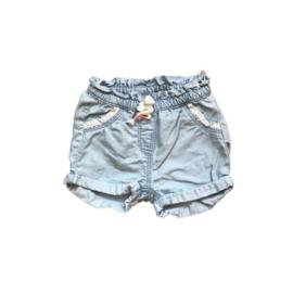 Short jeans met kant