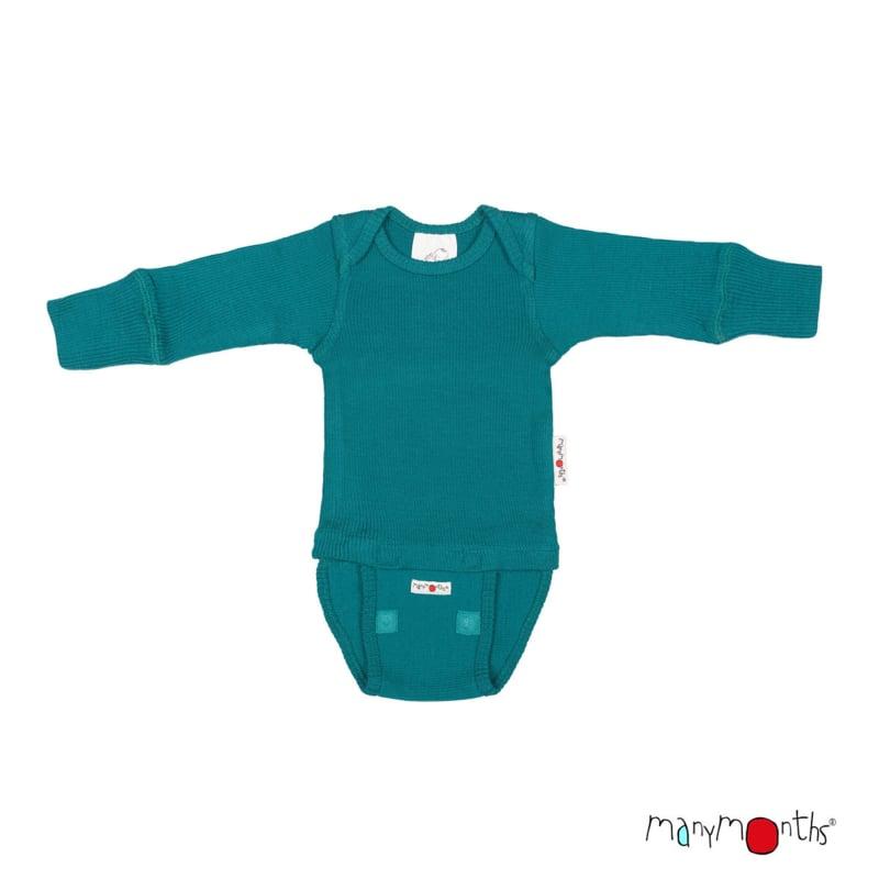 *N - Body royal turquoise- ManyMonths*