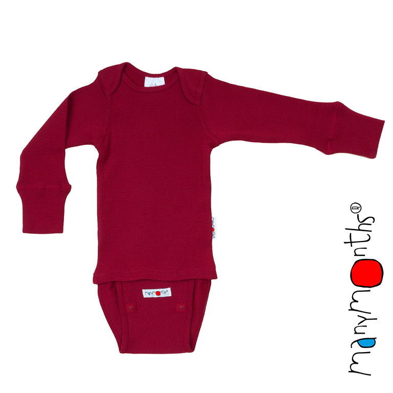 N - Body raspberry red- ManyMonths