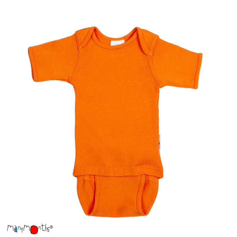 C/E - Body short festive orange - ManyMonths