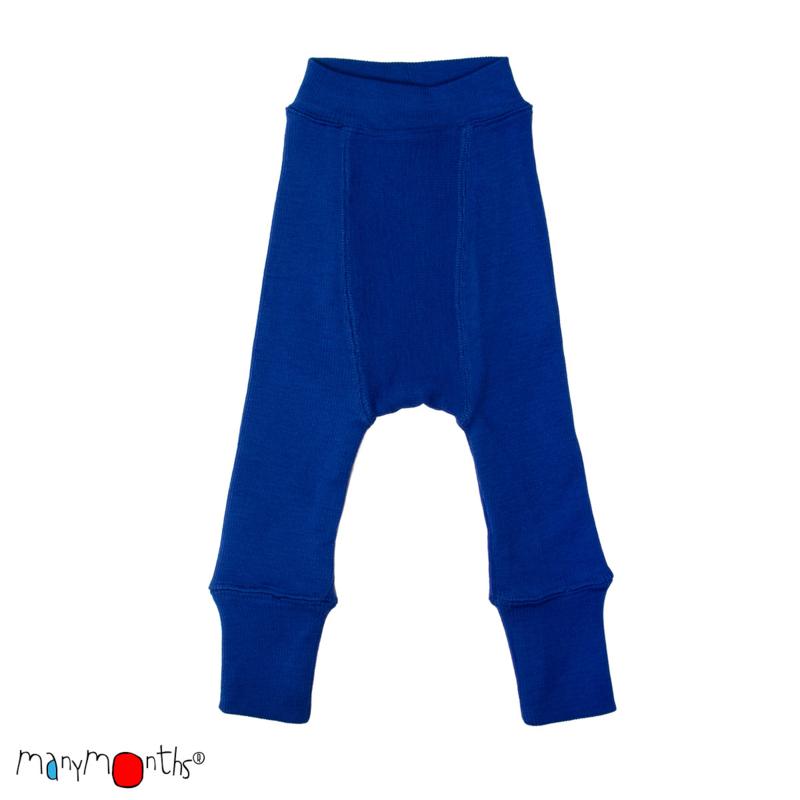 *E - Longies jewel blue - ManyMonths*