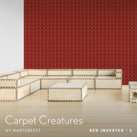 Carpet Creatures - Red Inverted