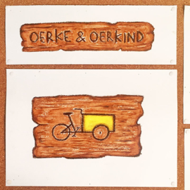 Autobelettering kinderopvang Oerkind