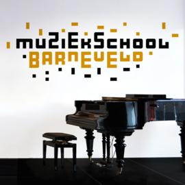 Van logo naar interieur: Muziekschool Barneveld