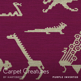 Carpet Creatures - Purple Inverted