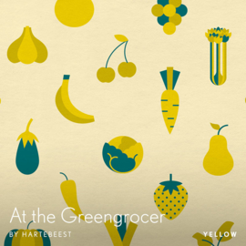 At the Greengrocer - Yellow