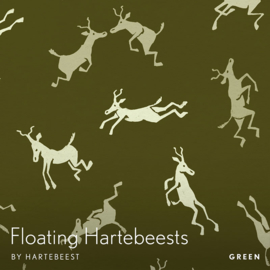 Floating Hartebeests - Green