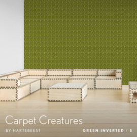 Carpet Creatures - Green Inverted